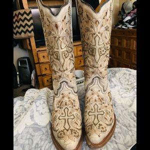 Corral Vintage Cowboy Boots 8.5